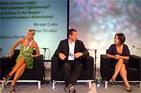 Robert Čoban na panelu 'Celebrity kultura u regiji'