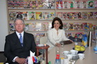NJKV Prestolonaslednik Aleksandar II i Princeza Katarina u poseti sedištu CPG!