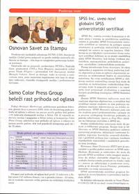 Samo magazini 'Color Press Group' zabeležili rast prihoda od oglasa u odnosu na januar prošle godine!